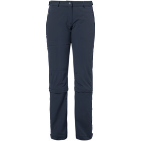 VAUDE Farley II Stretch T-Zip Capri Damen eclipse
